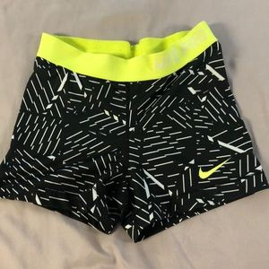Nike Pro compression shorts